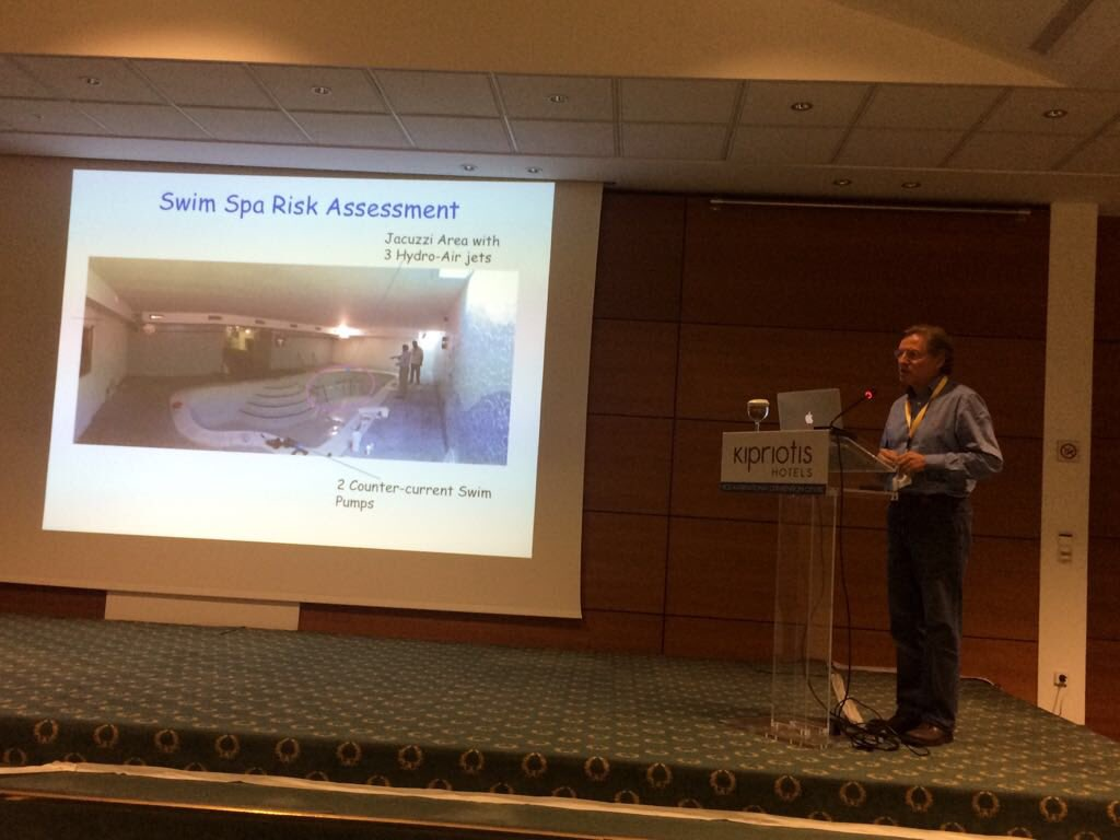 El Dr.Crespí invitado como ponente a la Pool&Spa International Conference de Kos
