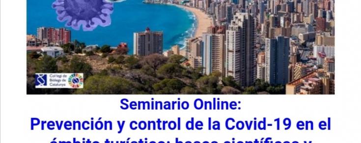 Webinar: Prevención y control de la Covid-19 en el ámbito turístico
