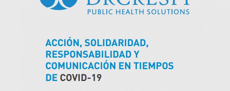2020: Acción, solidaridad y responsabilidad