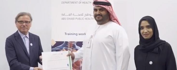 Workshop en Abu Dhabi: prevención de legionella